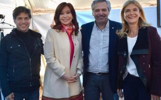 Intendentes destacron las candidaturas del exministro de Economía y la jefa comunal de La Matanza. Foto: Twitter