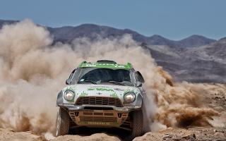 El Dakar llegó a Iquique.
