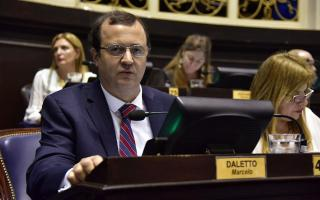 Daletto deja su banca de diputado por la cuarta sección electoral de Buenos Aires