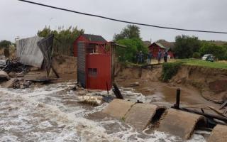 Santa Teresita fue una de las localidad mas afectadas