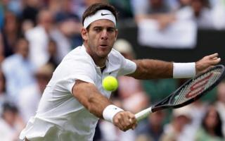 Del Potro ganó en la primera ronda de Wimbledon. Foto: AP