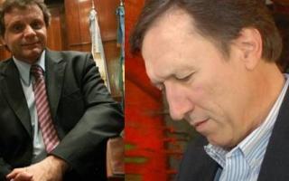 Pulti ex intendente de Mar del Plata(Izquierda)  y Bevilacqua ex jefe comunal de Bahía Blanca (Derecha)