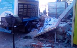 Derrumbe en Berazategui: Murió el presidente del Deportivo Berazategui