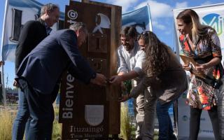 Ituzaingó: Descalzo participó de celebración por la recuperación de la Nieta 129