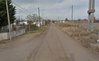El lugar donde fue abandonada la recién nacida. Foto: Labrujula24.