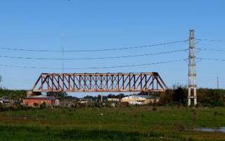 Puente de Fierro, la zona donde fue hallado el cuerpo de la adolescente. Foto: Diagonales
