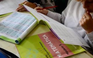 Se examinó a 205.368alumnosde 6to grado de 5.236escuelas primarias. Foto: Prensa
