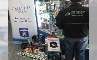 Contrabando de cigarrillos electrónicos: AFIP desarticuló banda en Mar del Plata, Miramar y Balcarce