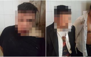 Tres delincuentes fueron detenidos