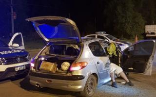 Azul: Lo detienen con más de 20 kilos de marihuana y cocaína. Foto: Prensa
