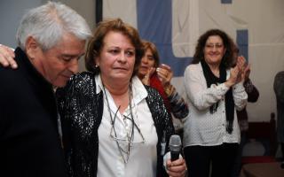 Petrocini, tras su nueva consagración. Foto: Twitter FEB