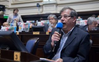 Di Marzio presentó el proyecto en la Legislatura provincial.