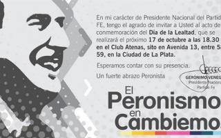 """La invitación del """"Momo"""" Venegas: """"El peronismo es Cambiemos"""""""
