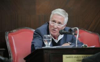 Díaz Pérez arremetió contra el Gobierno bonaerense.