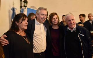 """""""Los intendentes pusieron a disposición de la fórmula Fernández - Fernández"""", aseguró Díaz Pérez"""