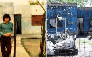 La muerte de Maradona: La casa de la infancia en Fiorito podría ser un centro de integración social