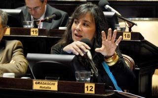 La exiputada Natalia Gradaschi, coautora del proyecto de ley.