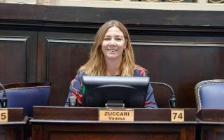Vanesa Zuccari, una de las impulsoras del proyecto. Foto: Prensa Zuccari.