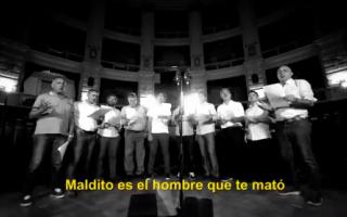 """Diputados bonaerenses y """"Los Rancheros"""" cantan contra la violencia de género"""