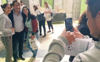 Darío Kubar no pudo impulsar la victoria para el macrismo en General Rodríguez. Foto: Twitter Darío Kubar.