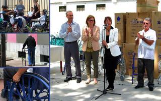 El Gobierno Municipal de Giustozzi donó insumos ortopédicos a instituciones locales. Foto: debrown.com.ar