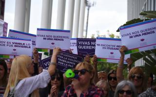 Paro de Mujeres: Trabajadoras municipales de Ituzaingó adhirieron al reclamo de justicia por las víctimas de violencia