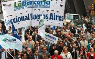 Los empleados del Bapro pararán 48 horas. Foto: Prensa