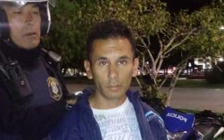 Acusado de asesinar a un joven en la vía pública. Foto: Twitter