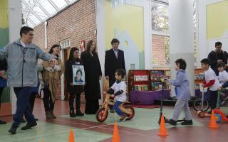 Vidal participó junto a Posse y Viviam Perrone de una jornada de educación vial en San Isidro