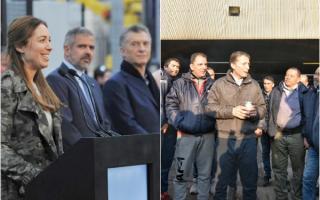 Esteban Echeverría: En campaña, Gray salió al cruce de Macri y Vidal por su visita al distrito