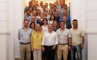 Intendente de Pergamino reunió a intendentes y referentes de Juntos por el Cambio de la Segunda Sección