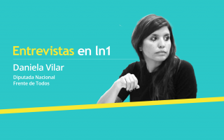 Daniela Vilar dialogó con LaNoticia1.com.