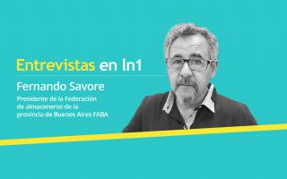 Fernando Savore dialogó con LaNoticia1.com.