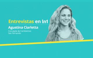 Agustina Ciarletta dialogó con LaNoticia1.com.
