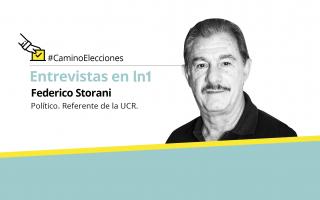 """Federico Storani: """"Polarizar con Cristina es pan para hoy y hambre para mañana"""""""