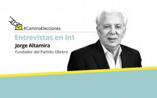 """""""Cuando Macri y Cristina o Lavagna defienden el pago de la deuda externa están defendiendo a la clase capitalista"""", afirmó Altamira."""