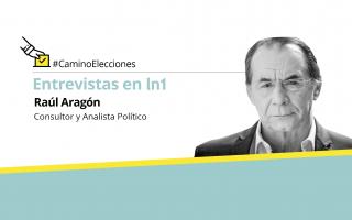Raúl Aragón, consultor y analista político