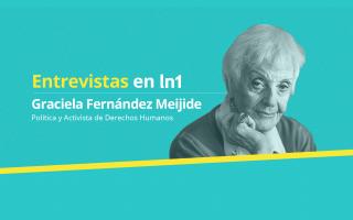 Graciela Fernández Meijide dialogó con LaNoticia1.com