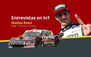 Rossi se ilusiona con ganar la final del TC. Foto: LN1
