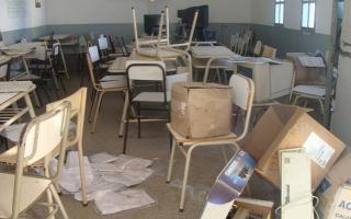 Aumentan los robos a escuelas de la Provincia.