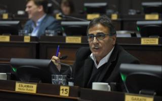 Eslaisman rechazó el Presupuesto aprobado en la Legislatura.