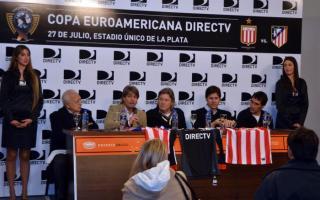 Estudiantes será local ante Atlético de Madrid.