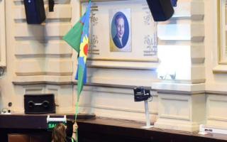 Entronizan retrato de Eva Perón en la Cámara de Diputados bonaerense