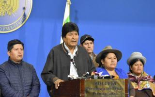 Evo Morales Ayma está exiliado en México