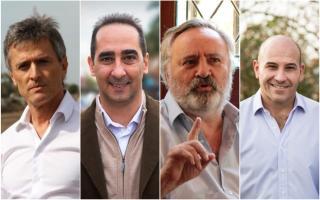 Ariel Franetovich, Ramiro Tagliaferro, Joaquín De La Torre y Martiniano Molina