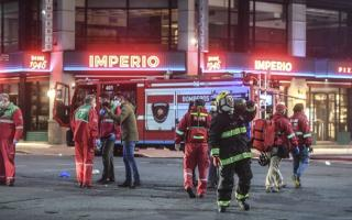 La explosión sucedió en el barrio de Villa Crespo