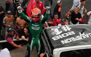 Canapino se quedó con su tercera corona y defendió el 1 para que quede en Chevrolet. Foto: Prensa