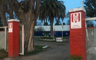 Todo ocurrió en el Institulo Atlético Pilar. Foto: PilaraDiario