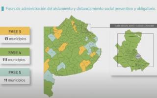 Covid-19 en Provincia: En qué fase está mi municipio, al 12 de enero