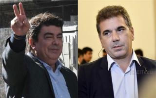 En campaña: Espinoza y Ritondo se cruzaron en Twitter.